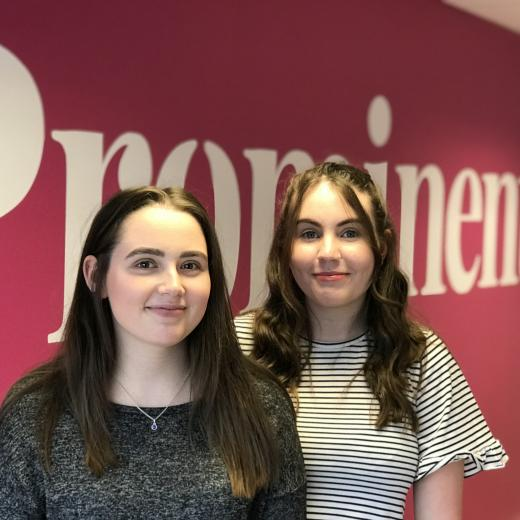 Prominent invests in youth with two apprentice hires