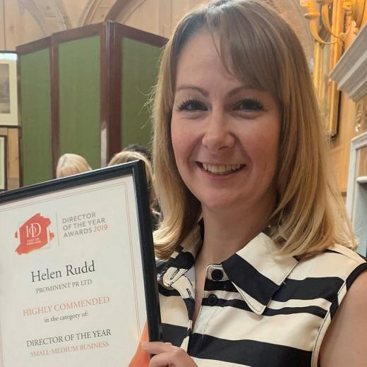 Prominent business success for Helen